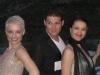 Yolanda Marín con Soraya Arnelas y Manu Tenorio